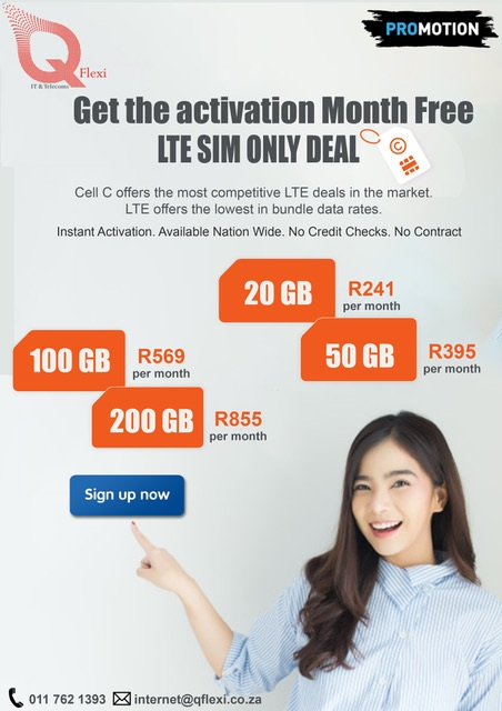 CELL C ACTIVATION FREE